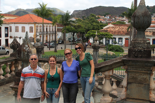 Eu com a família em São João del Rey, MG.