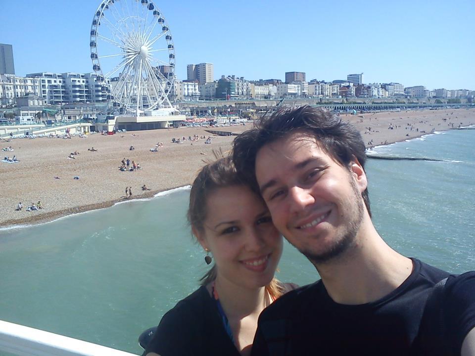 Em Brighton.