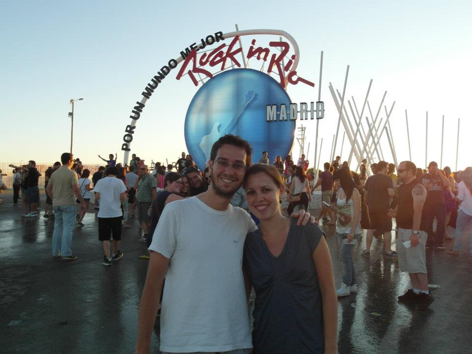 No Rock in Rio Madrid.