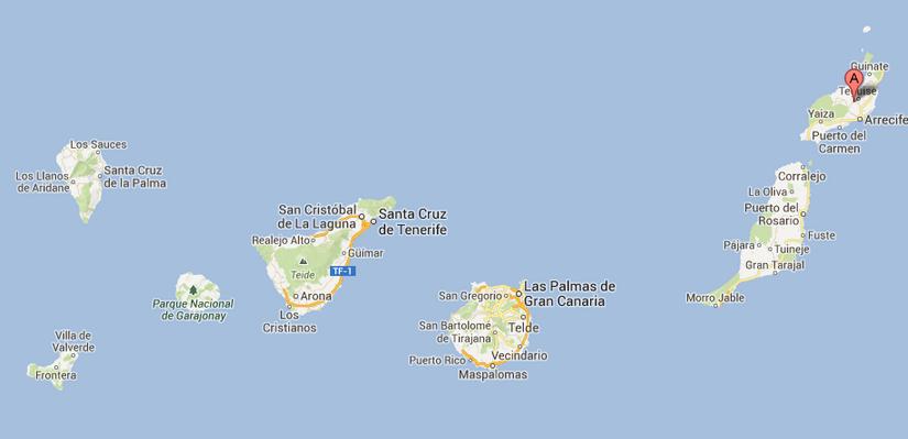7 dias em lanzarote ilhas can rias espanha london s - Canarias 7 telefono ...