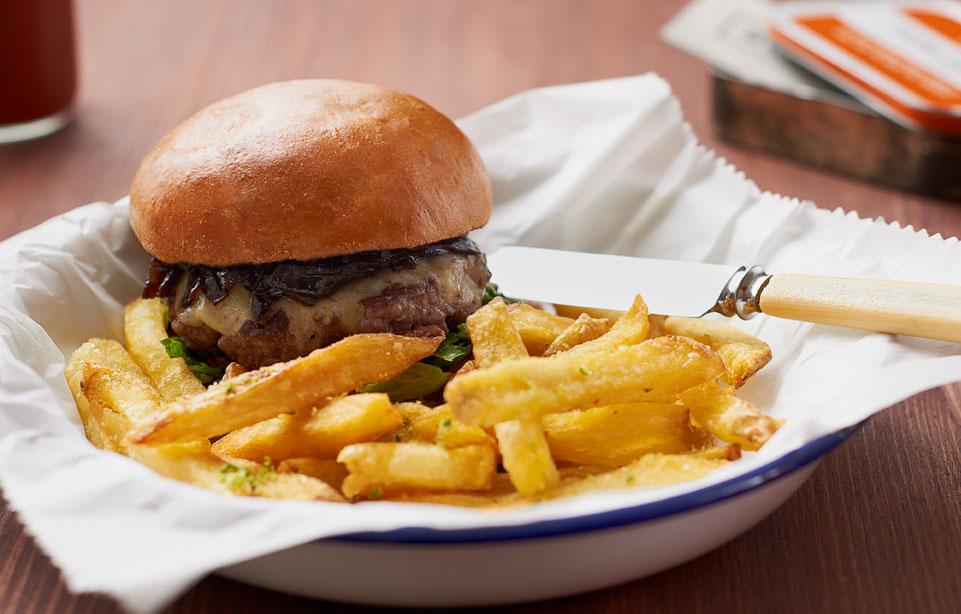 Honest Burger em Londres