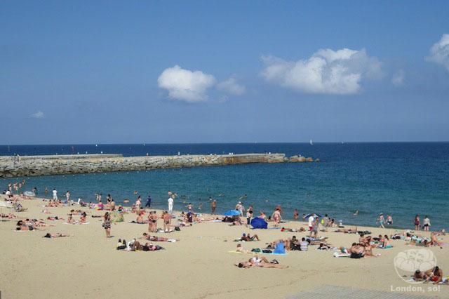 o que fazer em barcelona praia