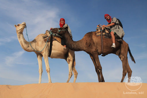 O Deserto do Saara de Star Wars na Tunisia