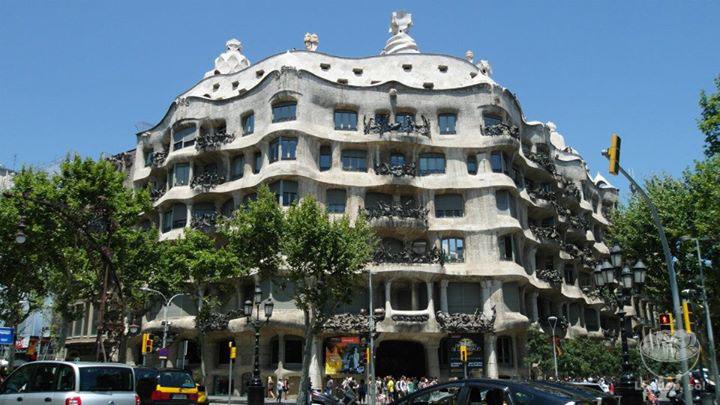 o que fazer em barcelona Casa Milàt por fora.
