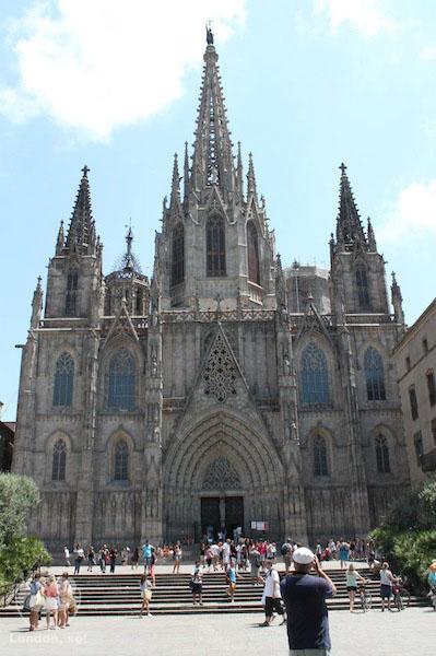 o que fazer em barcelona catedral-barcelona