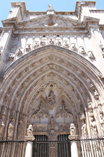 Catedral de Toledo por fora.