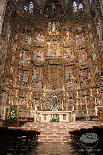 Catedral de Toledo por dentro.