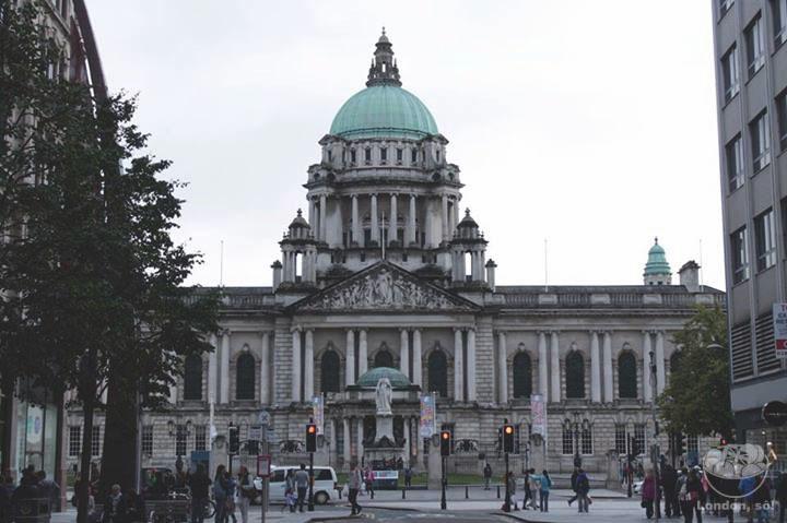City Hall, a Prefeitura de Belfast.