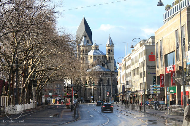 Natal em Colônia Catedral St Aposteln.