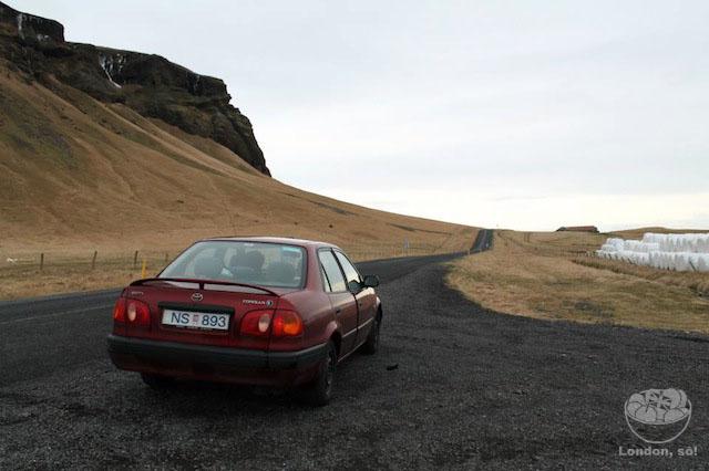 Dirigindo na Islândia