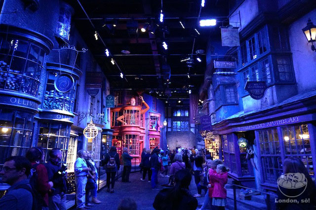warner bros studio harry potter O Beco Diagonal.