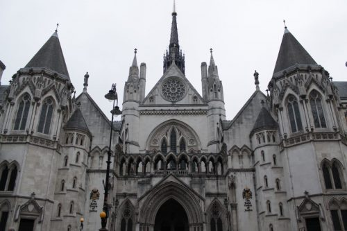 Royal Courts of Justice em Londres