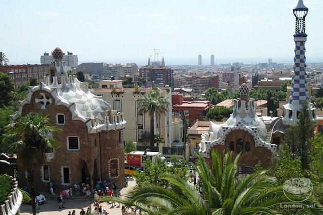 park-guell o que fazer em barcelona