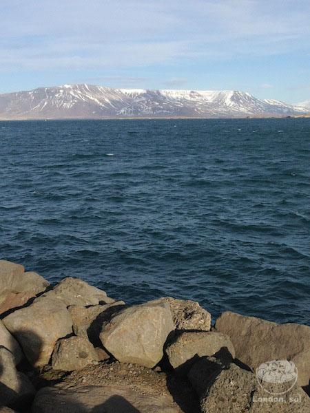 Linda vista da baía.