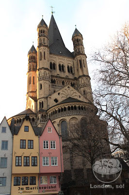 Natal em Colônia Catedral Groß St. Martin.