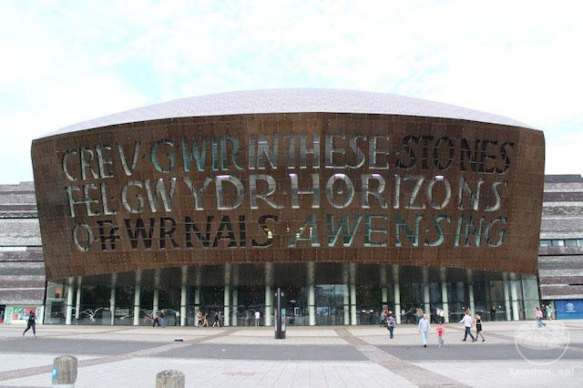 o que fazer em cardiff Wales Millennium Centre.