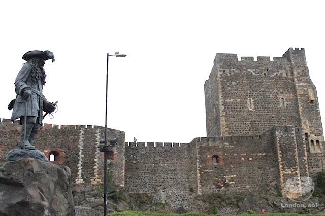 Carrickfergus Castle.