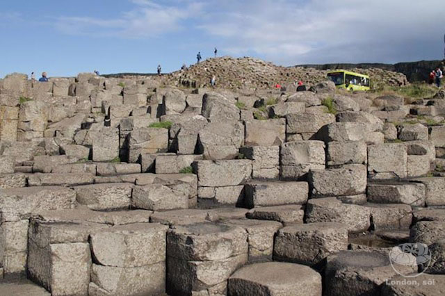 Giant's Causeway (Calçada dos Gigantes), Irlanda do Norte