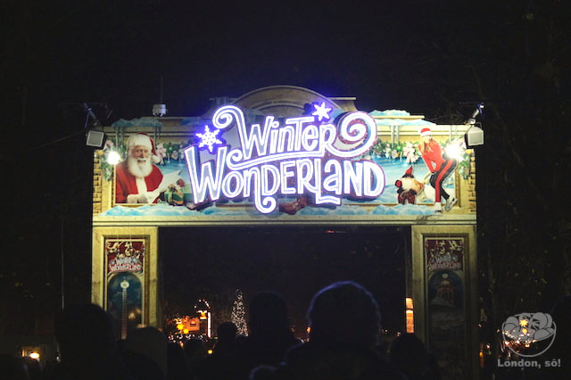 Natal em Londres: Winter Wonderland