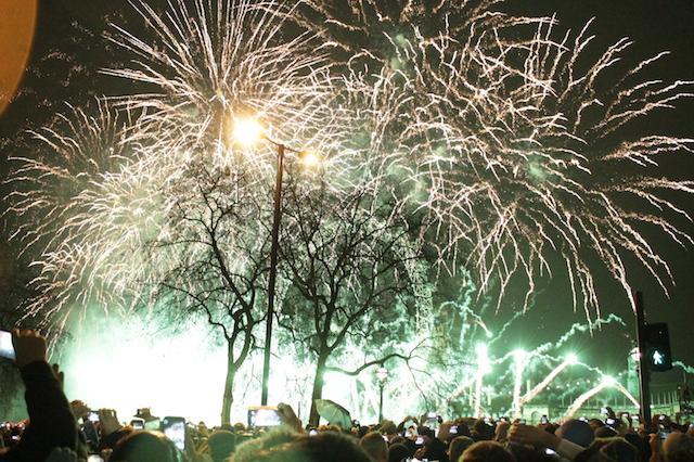 Fogos de Ano Novo na London Eye Agora Serão Pagos!