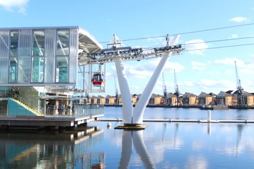 Emirates Air Line London, o Bondinho de Londres