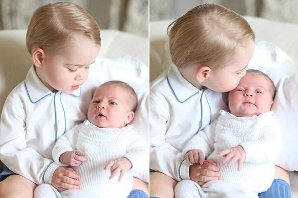 Príncipe George e Princesa Charlotte