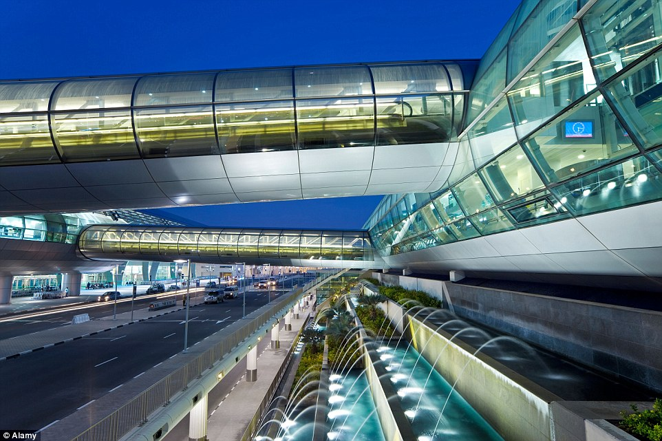 Aeroportos divertidos: Aeroporto de Dubai.
