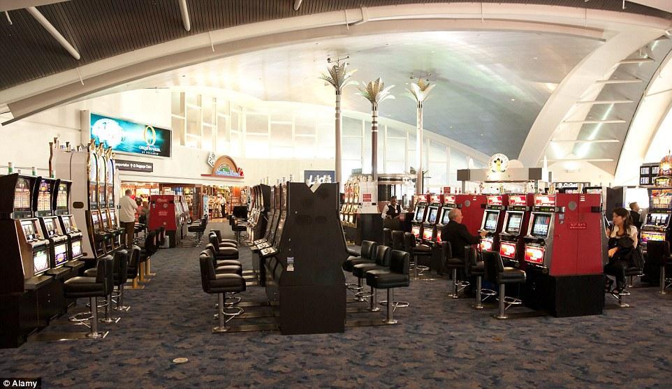 Aeroportos divertidos: Aeroporto McCarran em Las Vegas.