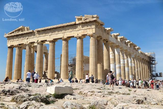 Parthenon em Atenas, Grécia