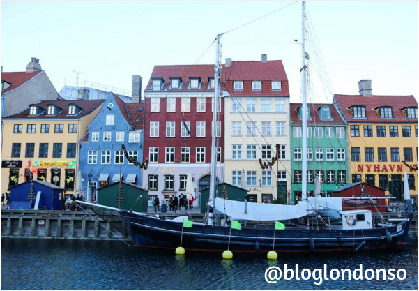 Copenhagen - foto do instagram do blog