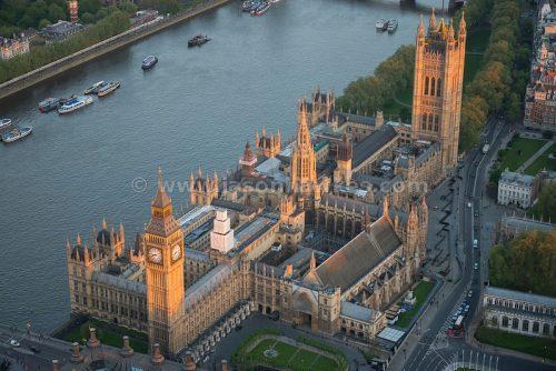 Impressionantes fotos aéreas de Londres