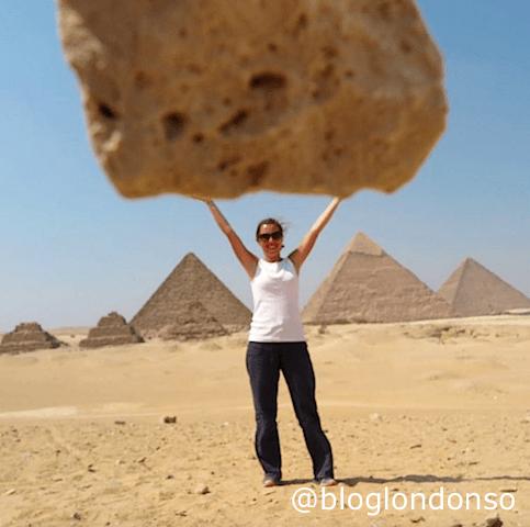 Pirâmides do Egito.