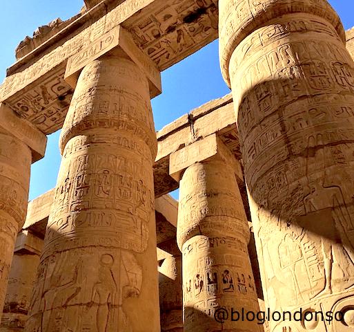 Templo de Karnak em Luxor.