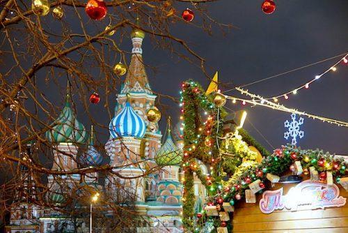 Natal e Reveillon em Moscou, Rússia