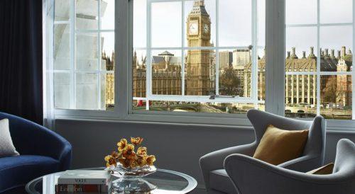 Hotéis em Londres com vista para pontos turísticos