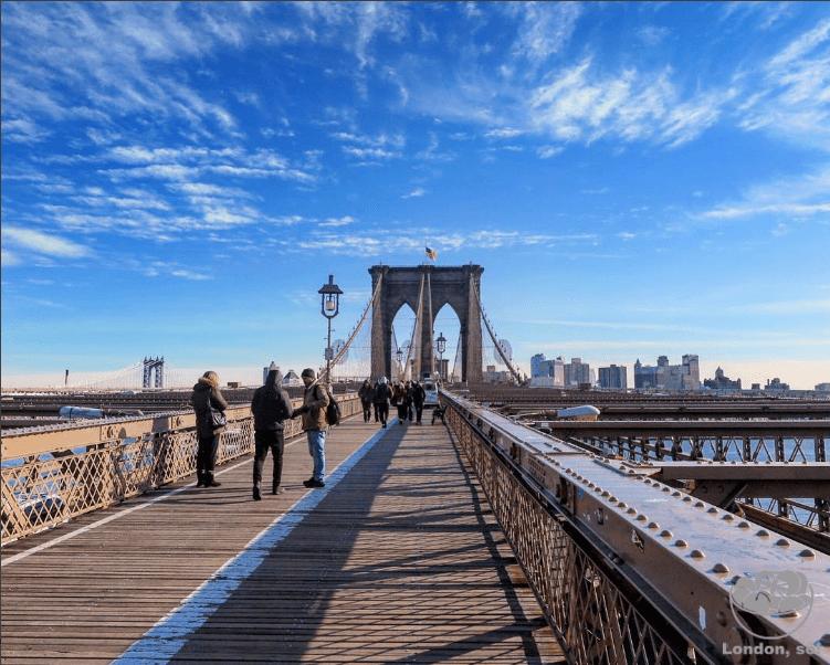 Brooklyn Bridge em NY, a minha parte preferida da cidade.