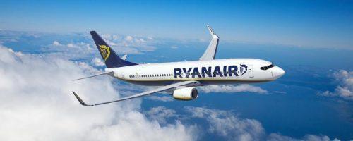Companhia Ryanair passa a ter vôos diretos para o Brasil