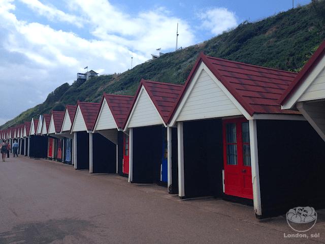 casinhas coloridas em Bournemouth
