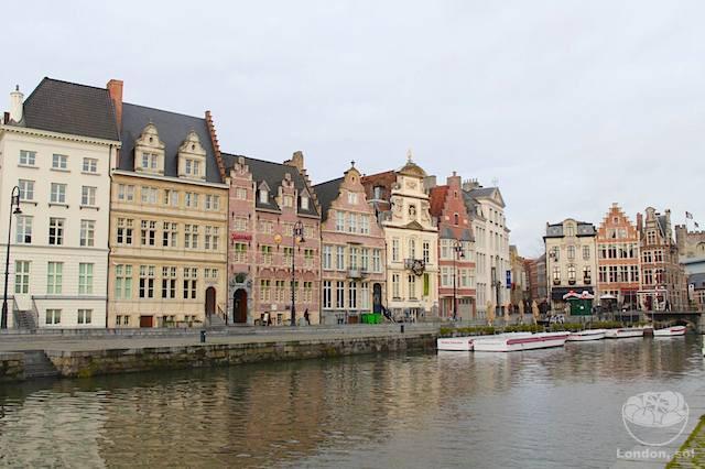 O que fazer em Gent: ir ao canal
