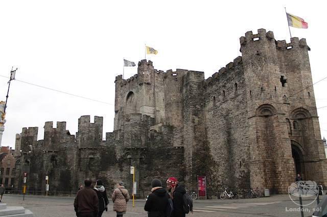 O que fazer em Gent: Castelo de Gravensteen.