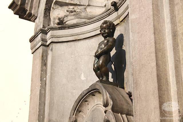 O que fazer em Bruxelas: Manneken Pis