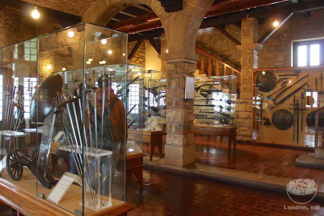 República de San Marino: O Museu de Armas.