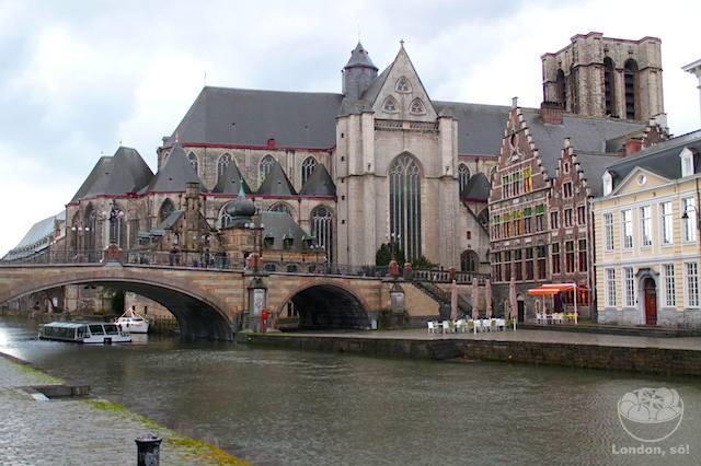 O que fazer em Gent: St Michael's Bridge.