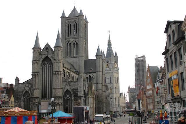 O que fazer em Gent: As três torres de Gent