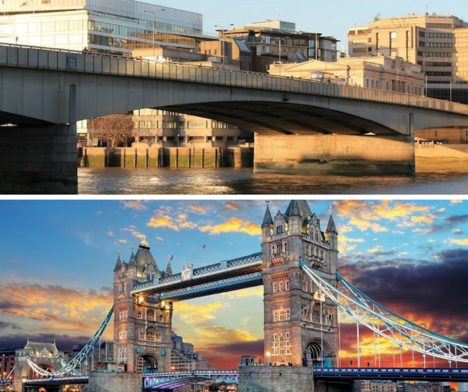 London Bridge x Tower Bridge: afinal, qual é qual?