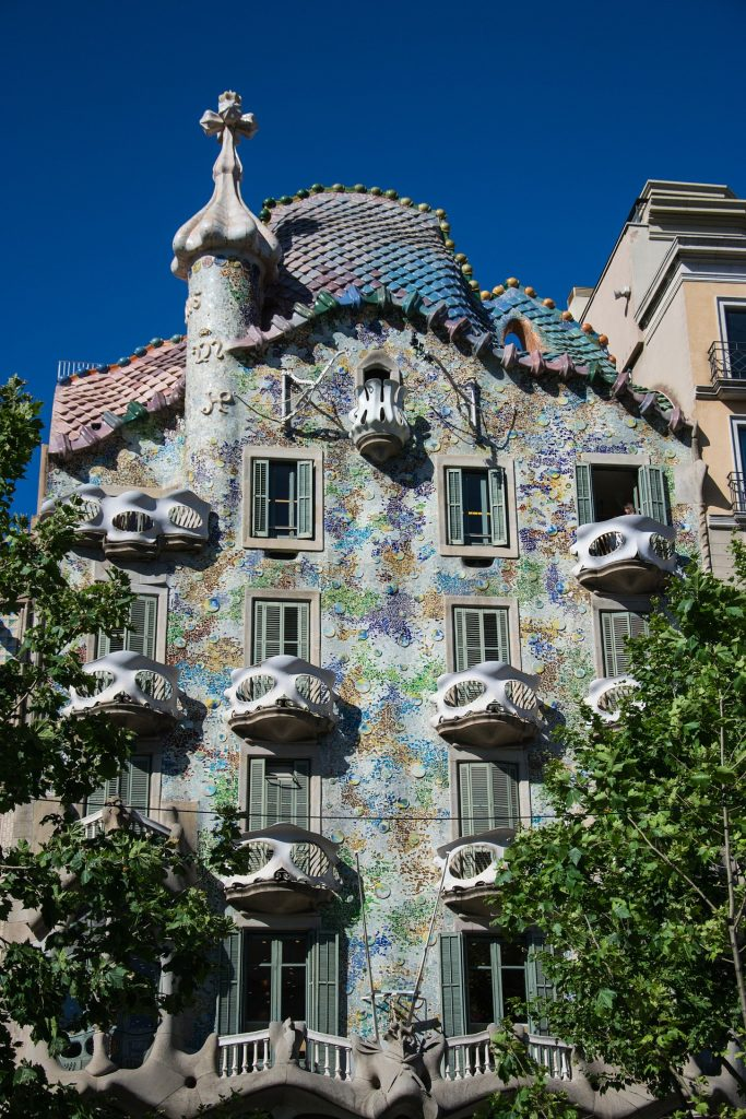 gaudí em barcelona: casa batllo