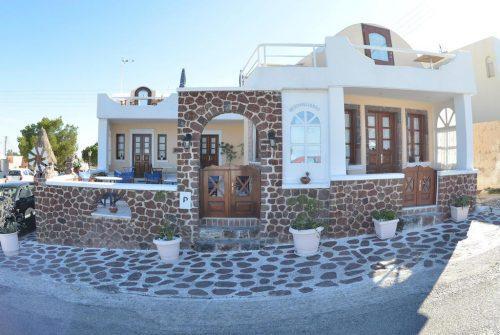 Hospedagem em Santorini: Hotel Merovigliosso