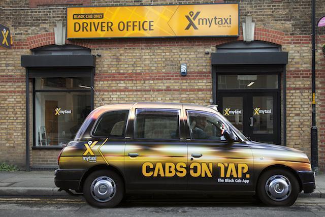 aplicativos de taxi em Londres