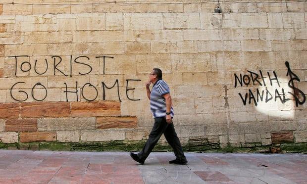 Turismofobia na Europa: Espanha