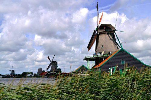 Zaanse Schans: a típica Holanda dos moinhos